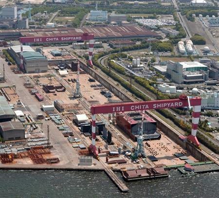 IHI、海洋構造物事業から撤退 LNG船用タンクなど