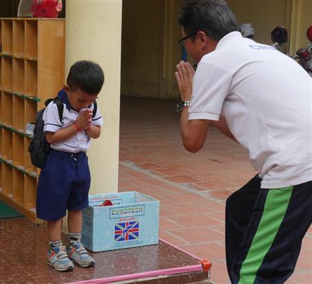 カンボジアの教育に日本の力を 幼小中一貫校を計画、母国を支えるリーダーを育成  (1)