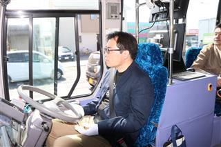 岡山の宇野バス、自動運転が好評 低速、緊急時のみ運転手が操作 今後は法定速度対応へ