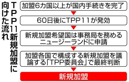 「TPP11」年明け発効後、日本主導で推進 自由貿易の輪拡大の方針示す (1/2ページ)