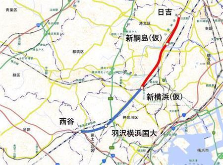 相鉄線(相模鉄道)の時刻表/路線図/定期 ...