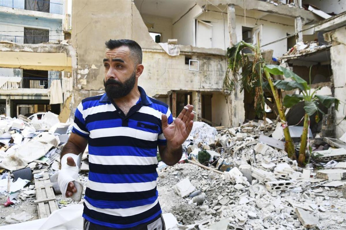 シリア難民、深まる生活苦 レバノン大爆発で被害直撃 - SankeiBiz ...