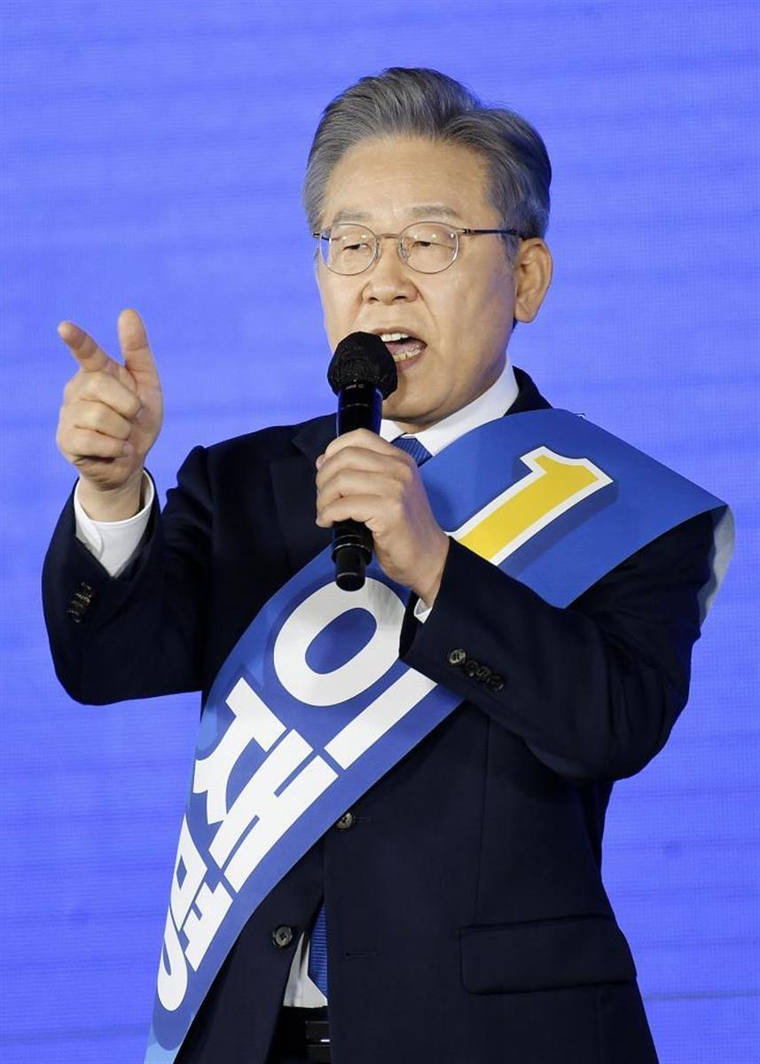韓国大統領選 与党本命候補、対日強硬発言に懸念の声も